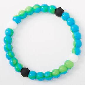 Blue & Green Hope Fortune Stretch Bracelet,