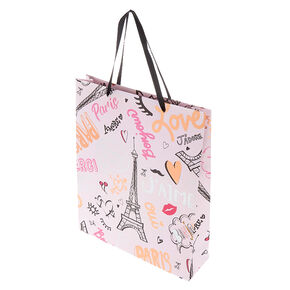 Extra Large Paris Gift Bag - Pink,