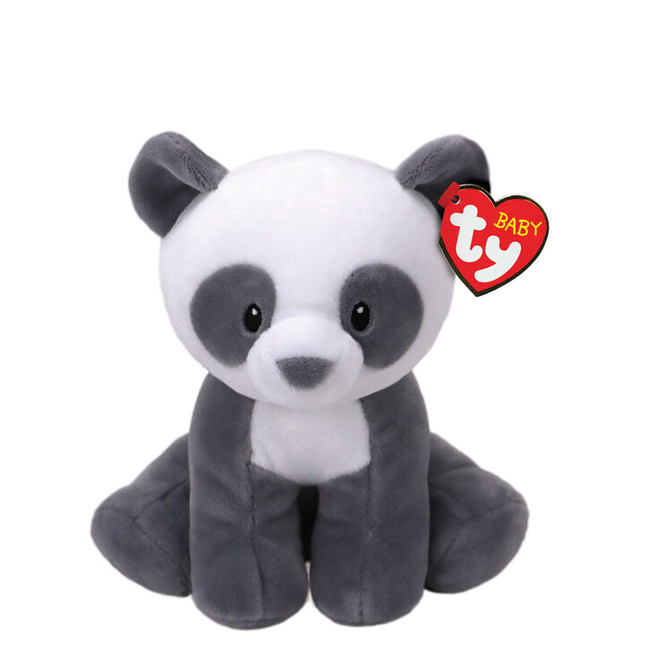 Ty Baby Small Mittens The Panda Bear Plush Toy Claire S Us