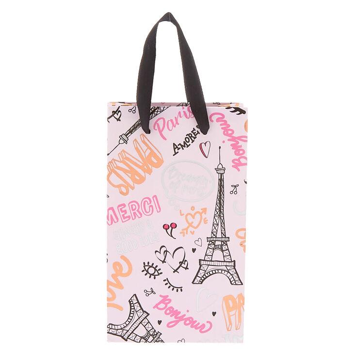 Small Paris Gift Bag Pink