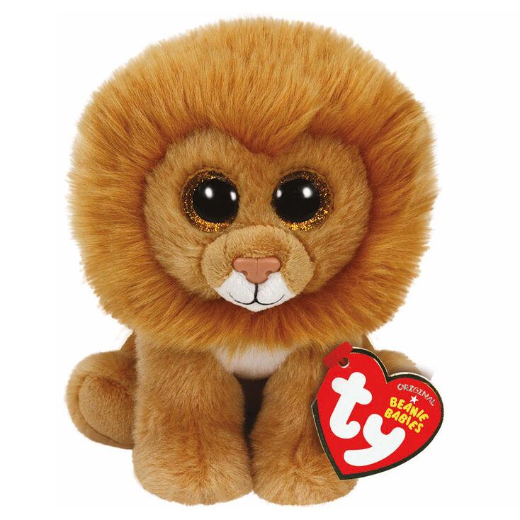 Ty Beanie Babies Medium Louie The Lion Plush Toy Claire S Us