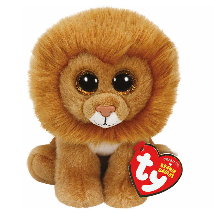 8921a87c1b4 Ty Beanie Babies Medium Louie the Lion Plush Toy