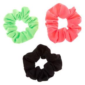 Small Neon Watermelon Hair Scrunchies - 3 Pack,