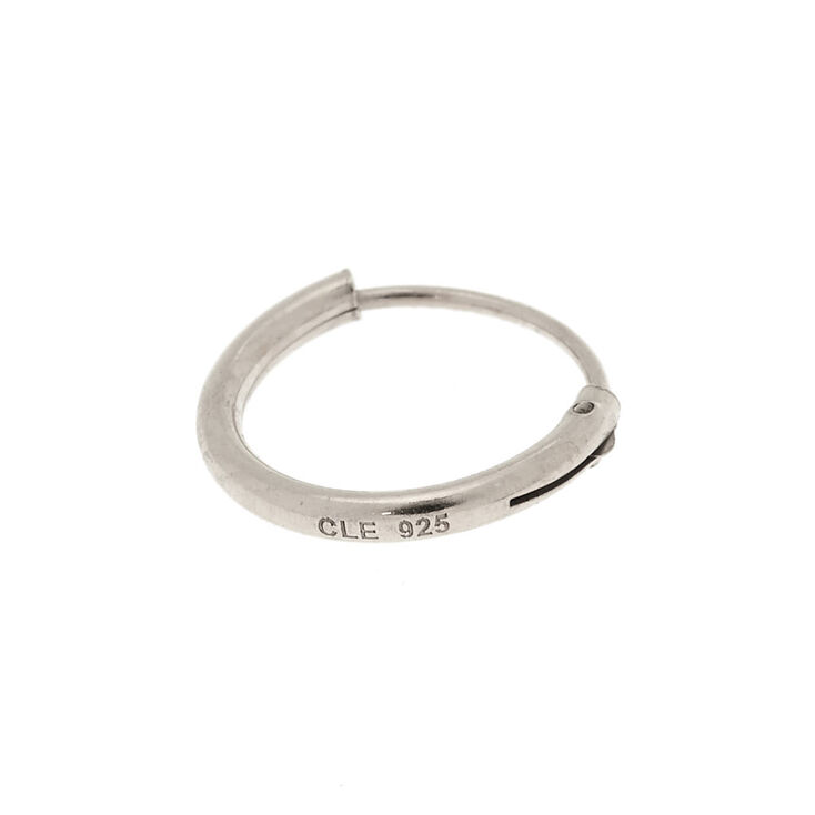 Sterling Silver 10MM Cartilage Hoop Earring   Claire's US