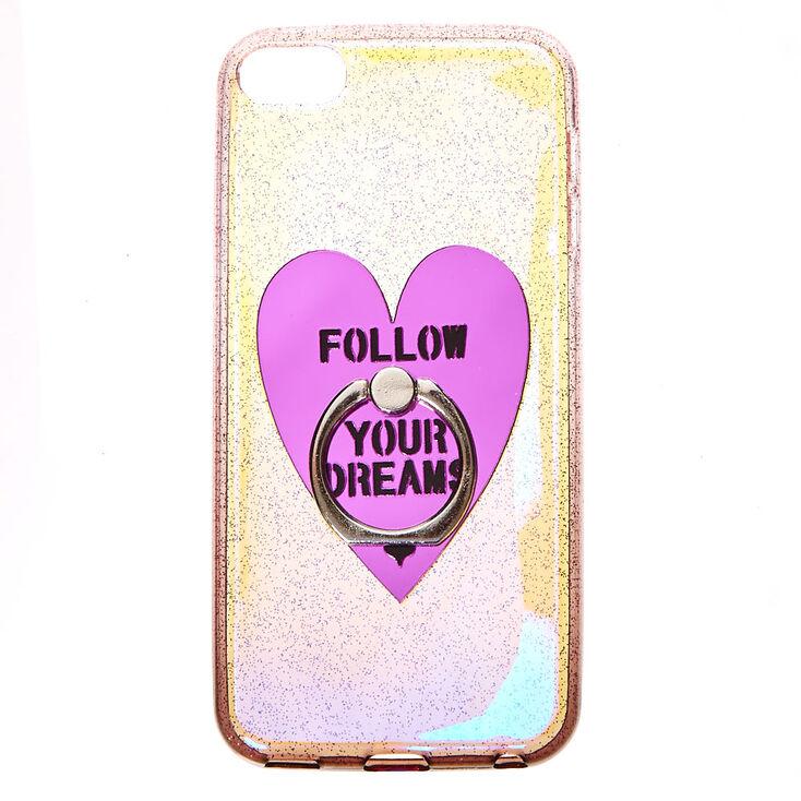 Coque irisée pour iPod® Touch «Follow Your Dreams»,