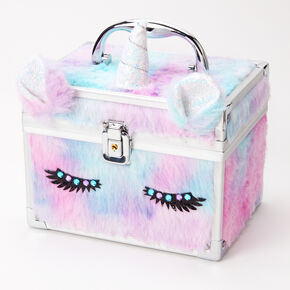 Furry Pastel Unicorn Lock Box,