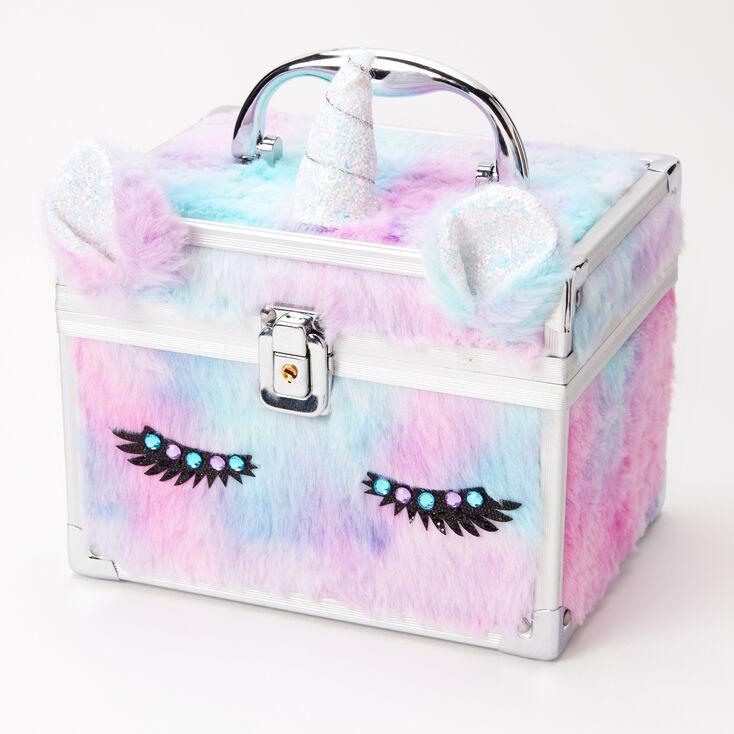 Furry Pastel Unicorn Lock Box,