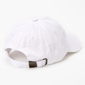 Casquette de baseball trèfle - Blanc,
