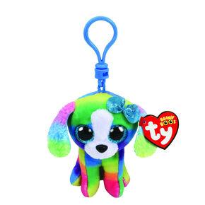 5ce36825e8f Ty Beanie Boo Lola the Dog Keyring Clip