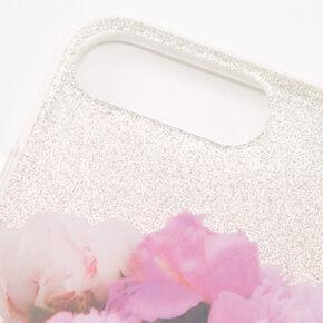 Paris Glitter Protective Phone Case - Fits iPhone 6/7/8 Plus,