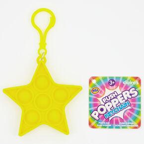 Porte-clés jouet fidget Push Poppers fluo - Les modèles peuvent varier,