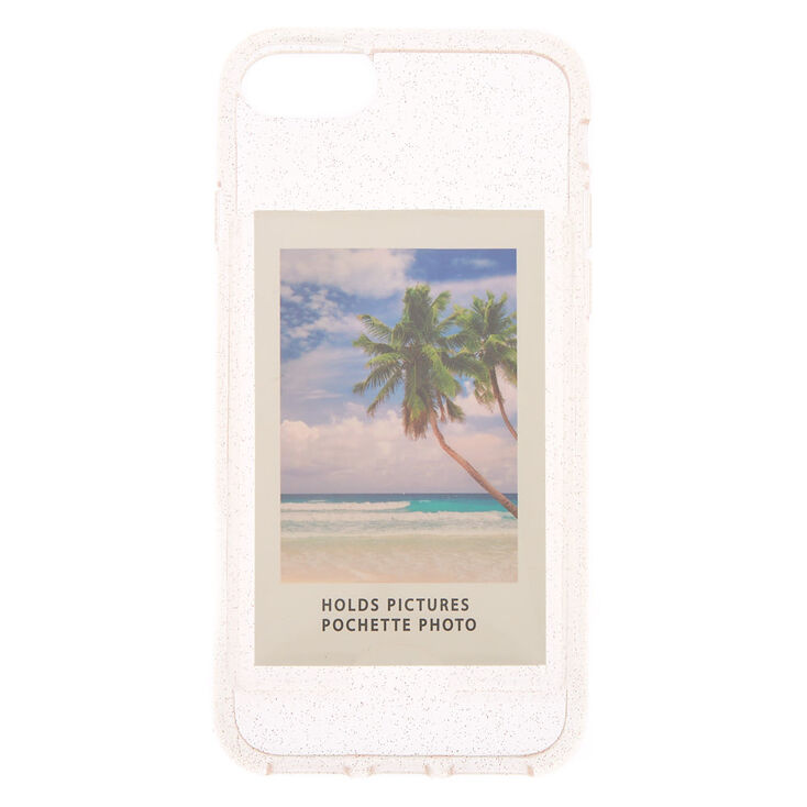 Mini Pocket Glitter Phone Case - Fits iPhone 6/7/8/SE,