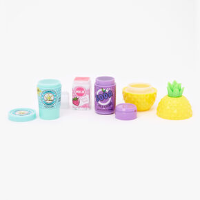 Pink Shopping Cart Lip Balm Set - 4 Pack,