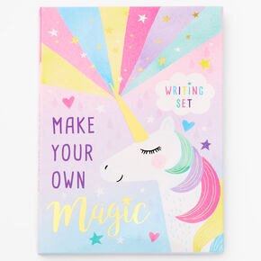 Claire's Club Unicorn Magic Writing Set,