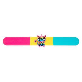 Lulu the Leopard Slap Bracelet,