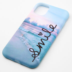 Smile Beach Phone Case - Fits iPhone 11,
