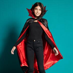 Cape de vampire Halloween - Noir,