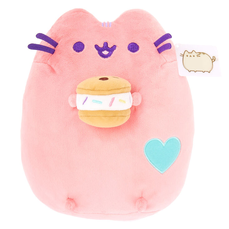 Pusheen Medium Chipwhich Plush Toy Pink Claires Us