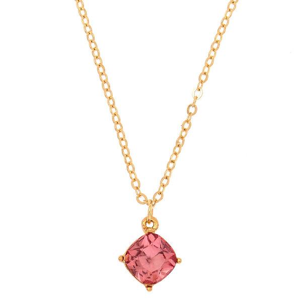 Claire's - october birth stone pendant necklace - 1