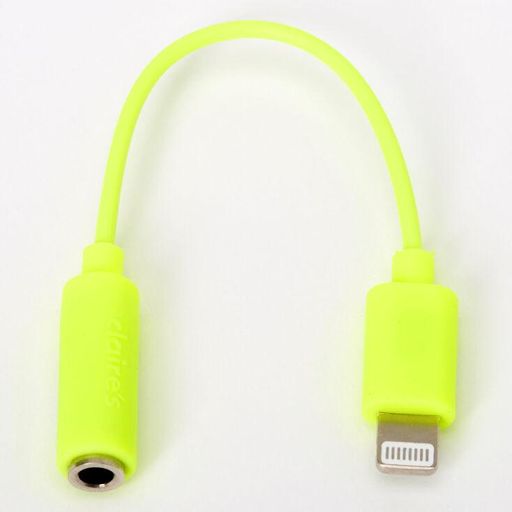 Neon Headphone Adapter - Yellow,