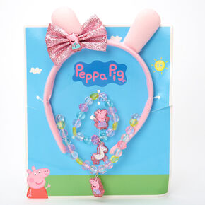 Peppa Pig™ Ears Headband and Jewellery Set – 4 Pack,