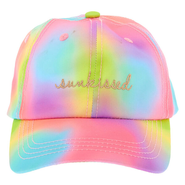 Claire's - sunkissed tie-dye baseball cap - 2