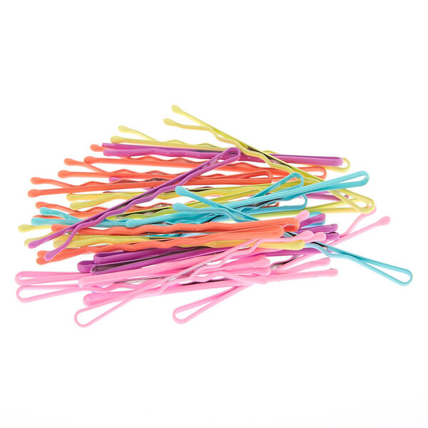 Claire's - pastel bobby pins - 1