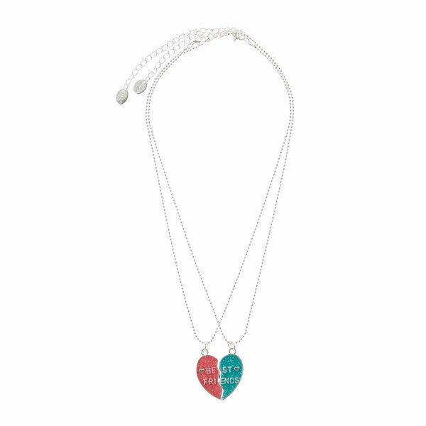 Claire's - best friends heart pendant necklaces - 2