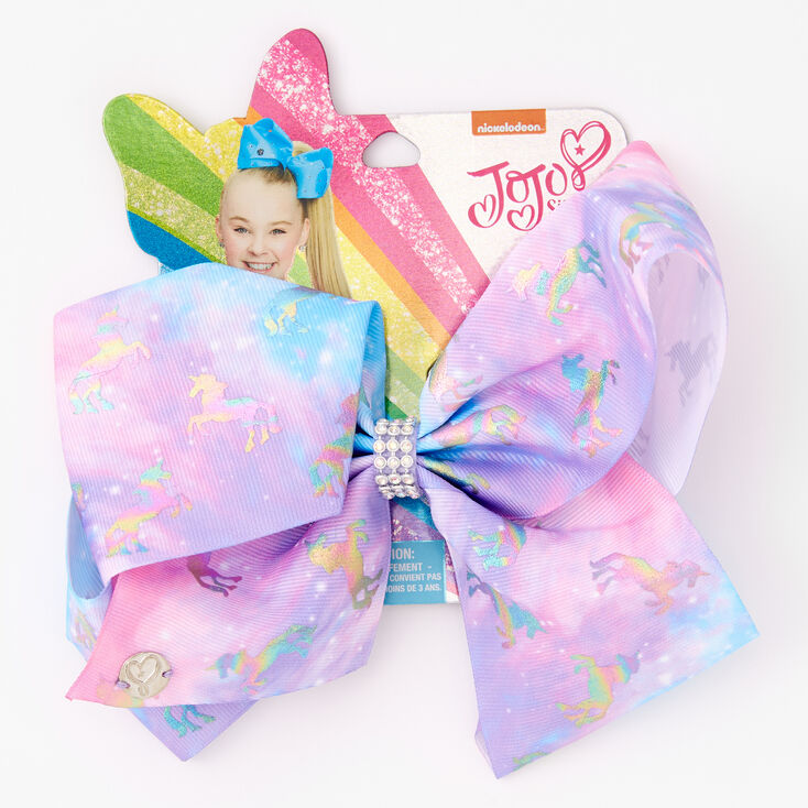 JoJo  Siwa™ Rainbow Unicorn Hair Bow,