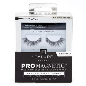 Eylure Pro Magnetic Fluttery Light No. 117 Eyeliner & Lash System,