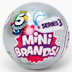Zuru™ 5 Surprise™ Mini Brands! Blind Bag - Series 3, Styles May Vary,