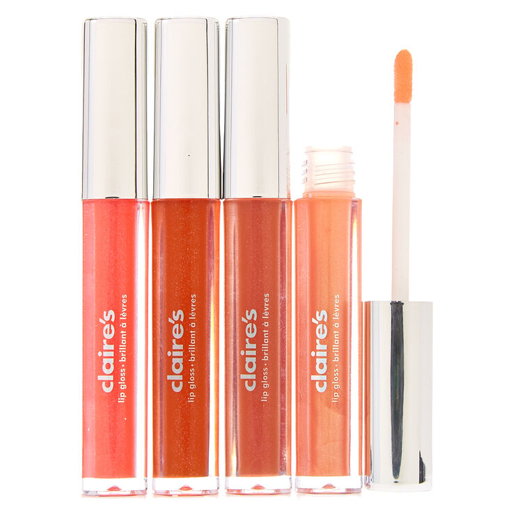 Shades of Orange Lip Gloss,