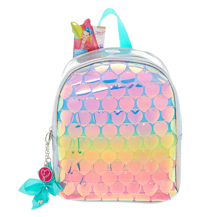 JoJo Siwa trade  Rainbow Hearts Mini Backpack ... a2db43761b