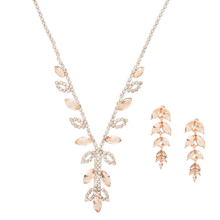 475068c2b914e Rose Gold Vine Jewellery Set - 2 Pack