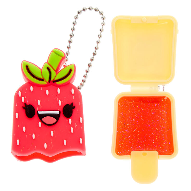 Pucker Pops Strawberry Girl Lip Gloss - Strawberry,