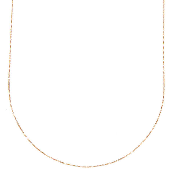 Claire's - rose chain necklace - 1
