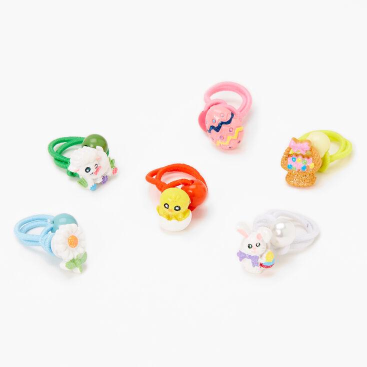 Easter Critter Hair Ties - 6 Pack,