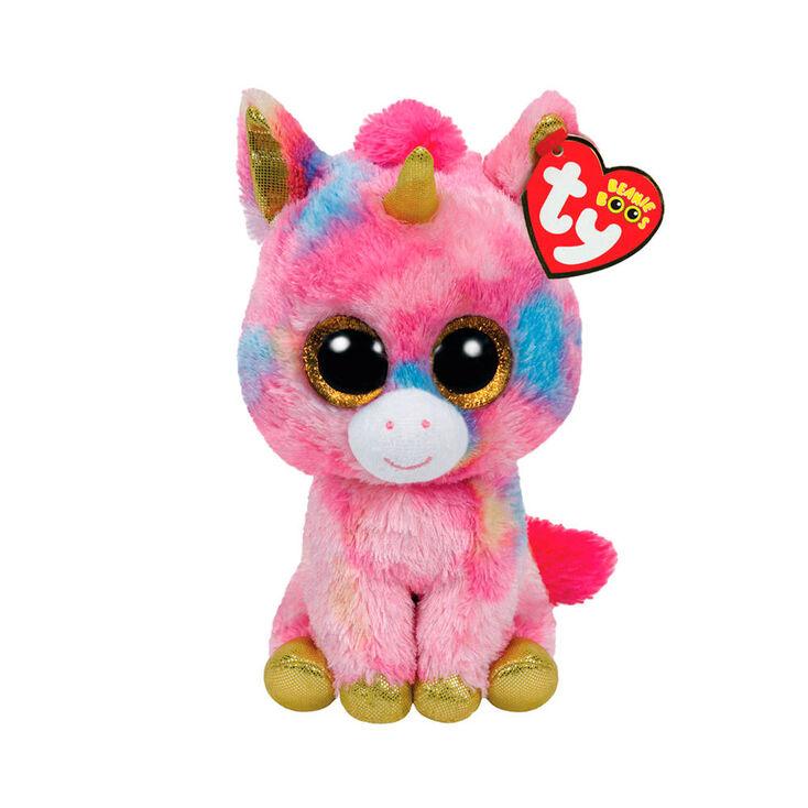 Ty Beanie Boo Large Fantasia The Unicorn Plush Toy Claire S Us