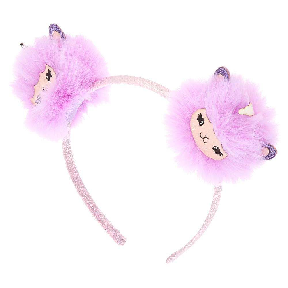 Pom Pom Headband Fuchsia Pink Head Band Festival Fashion