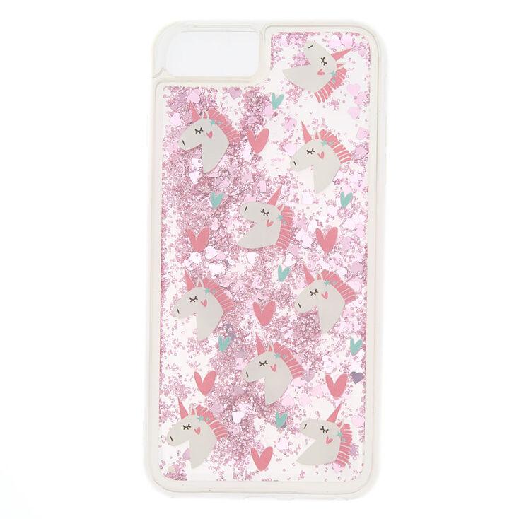sports shoes 5a7f3 ed330 Pink Glitter Unicorn Phone Case