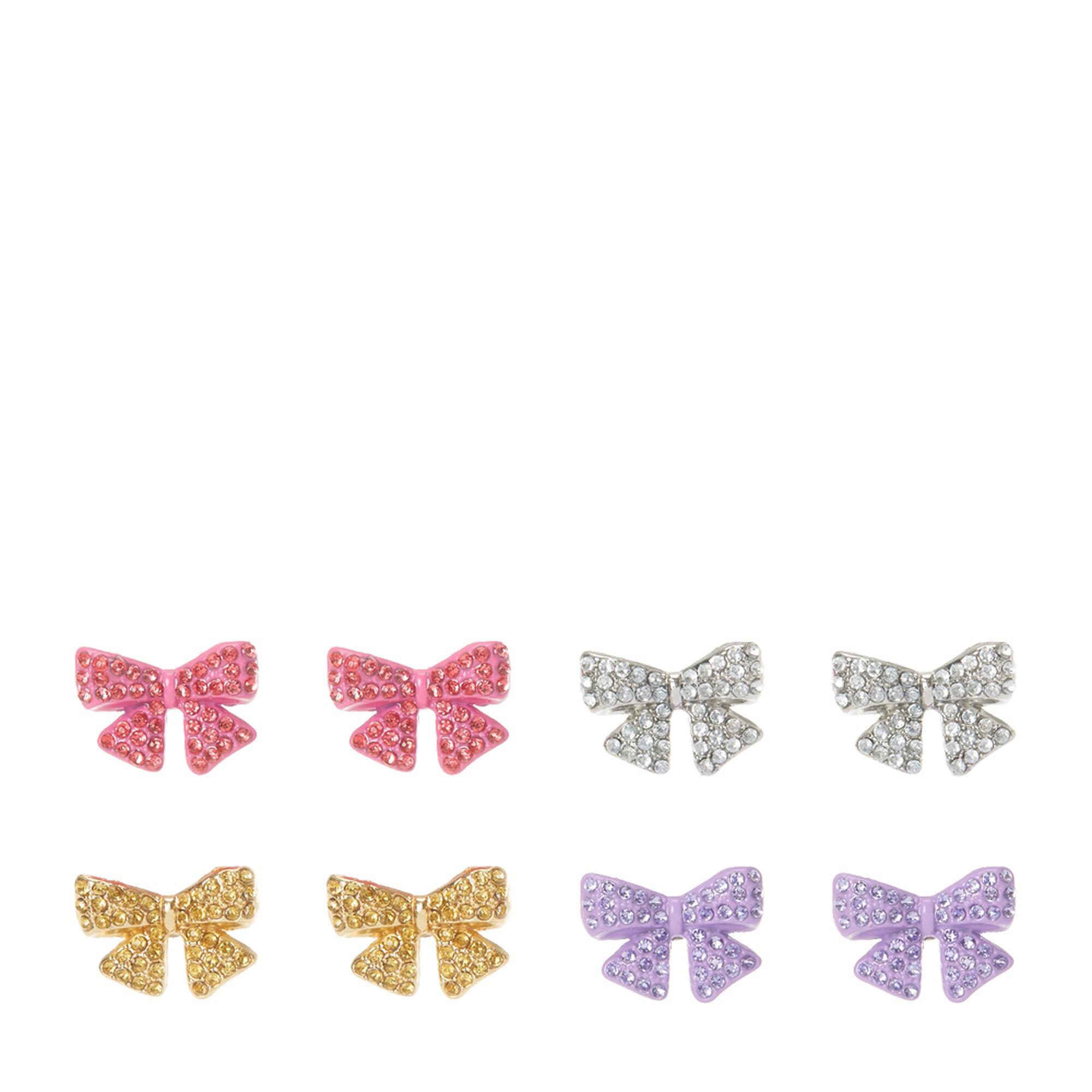 Jojo Siwa Trade Rhinestone Bow Stud Earrings