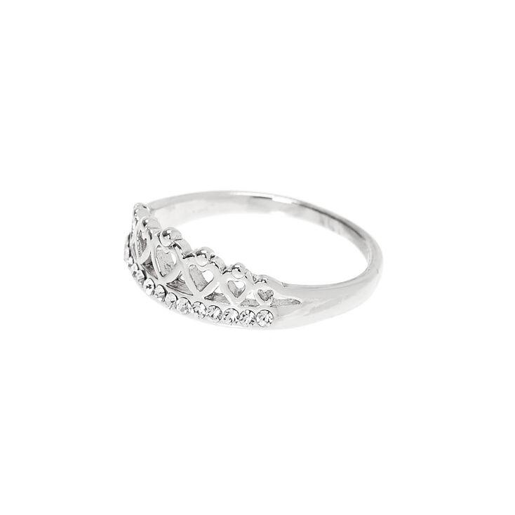 Silver Tiara Ring,