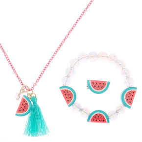 Claire's Club Watermelon Jewellery Set - 3 Pack,