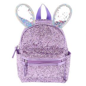 1229e869255d Bella the Bunny Glitter Mini Backpack - Lilac Purple