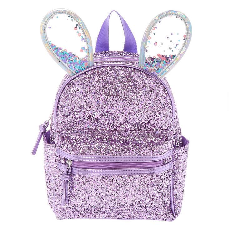 9c53d1b648e5 Bella the Bunny Glitter Mini Backpack - Lilac Purple