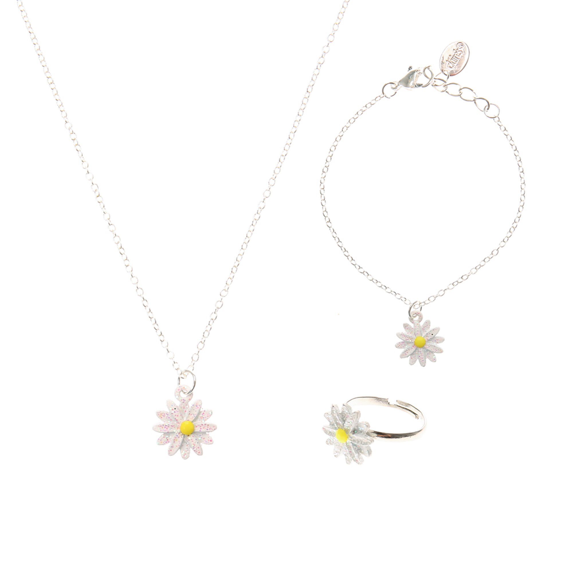 daisy gold toned us choker rose necklace
