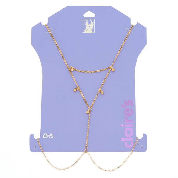Claire's - beaded body chain - 1