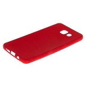 Matte Logo Cut Out Phone Case - Fits Samsung Galaxy A5,