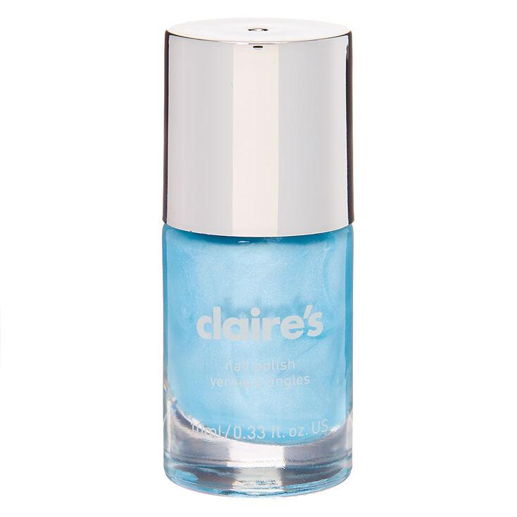 Shimmer Nail Polish - Denim,