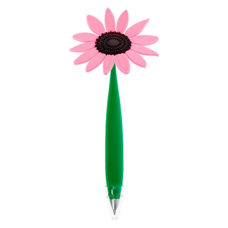 Daisy Flower Floppy Pen - Pink,